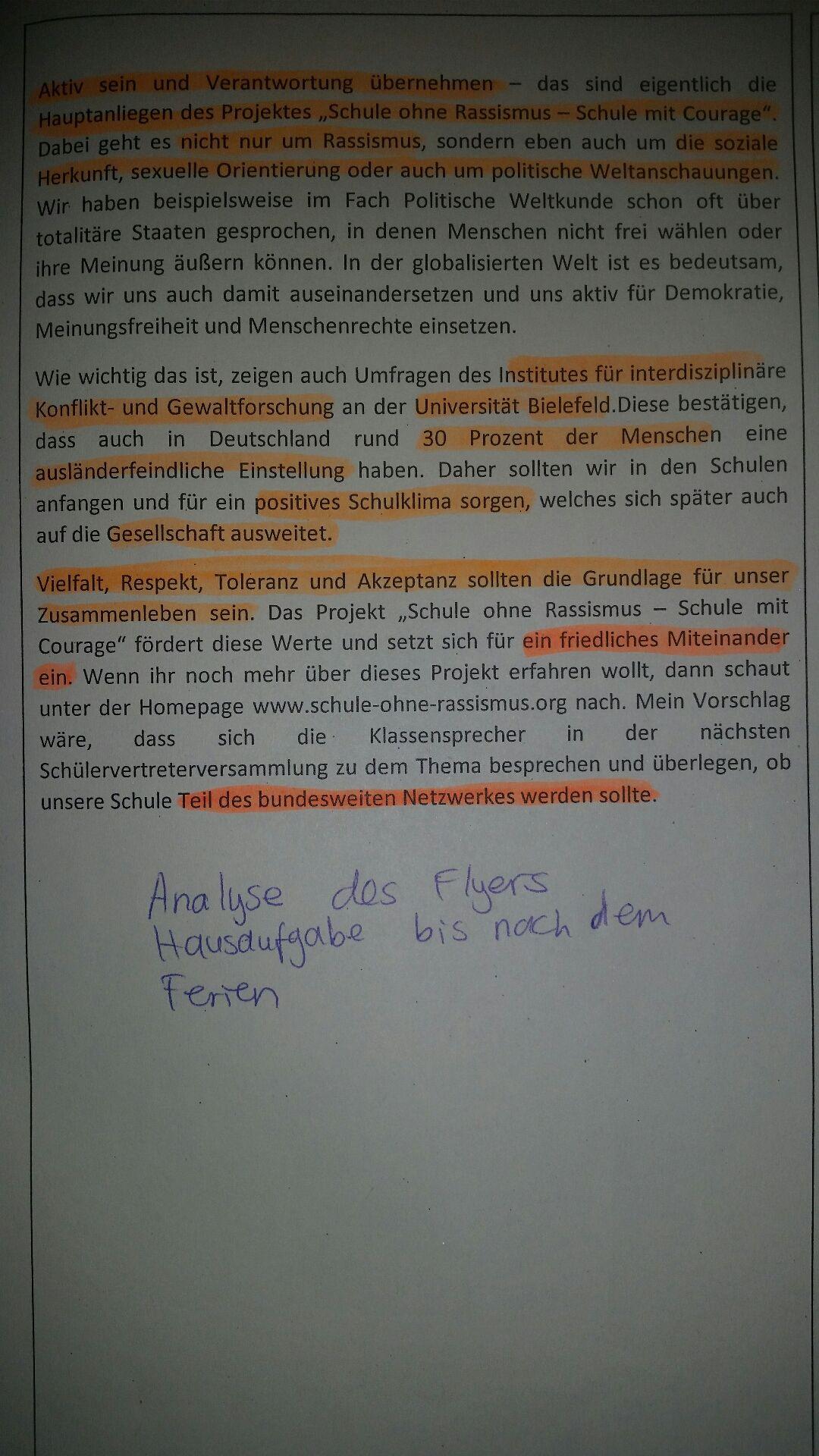 Deutsch Analyse Schreiben Gostudent